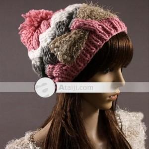 Gorros tejidos a la moda (3)