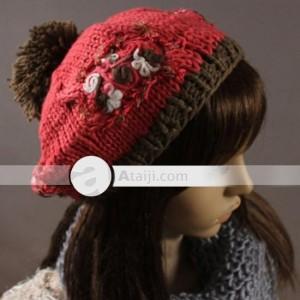 Gorros tejidos a la moda (8)