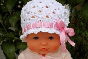 Gorros tejidos para bebés