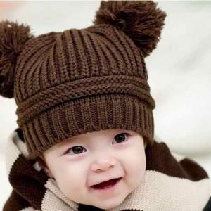 Gorros tejidos para bebés (12)