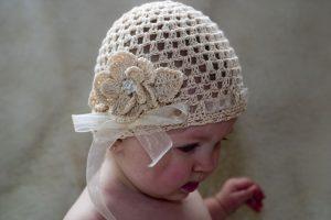 Gorros tejidos para bebés (13)