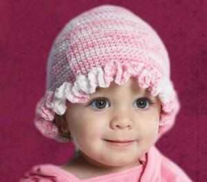 Gorros tejidos para bebés (9)
