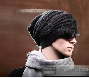 Gorros tejidos para hombres (7)
