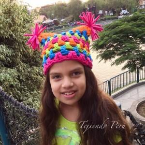 Gorros con pompones (8)