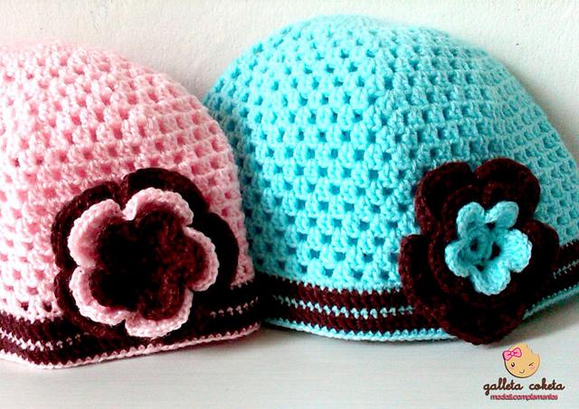 Gorros tejidos a crochet | Gorros tejidos