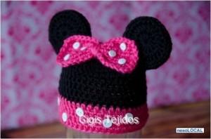 Gorros tejidos de Mickey (5)
