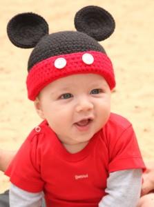 Gorros tejidos de Mickey (6)