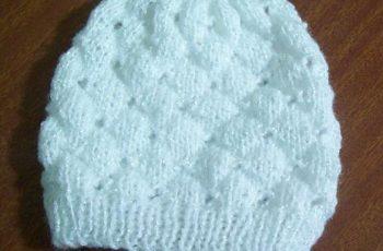 10 Opciones de gorros tejidos con cuatro agujas (10)