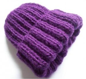 10 Opciones de gorros tejidos con cuatro agujas (5)