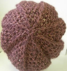 10 Opciones de gorros tejidos con cuatro agujas (8)