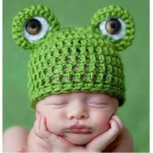 12 Gorros tejidos para recién nacidos (13)