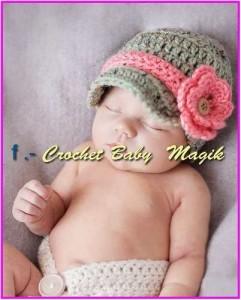 12 Gorros tejidos para recién nacidos (4)