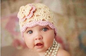 12 Gorros tejidos para recién nacidos (9)