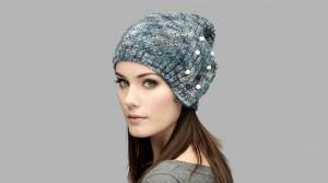 13 Bonitos gorros tejidos para invierno (1)