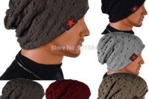 13 Hermosos gorros tejidos para nieve