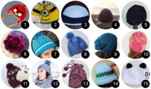 13 Hermosos gorros tejidos para nieve (4)