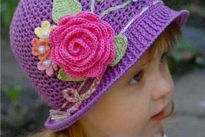 10 Hermosos gorros para niñas