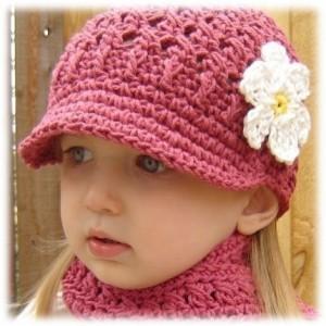 10 Hermosos gorros para niñas (4)