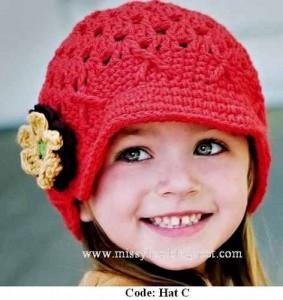 13 Modelos de gorros tejidos especiales para bebés (12)