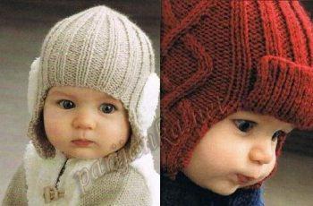13 Modelos de gorros tejidos especiales para bebés (14)