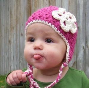 13 Modelos de gorros tejidos especiales para bebés (5)