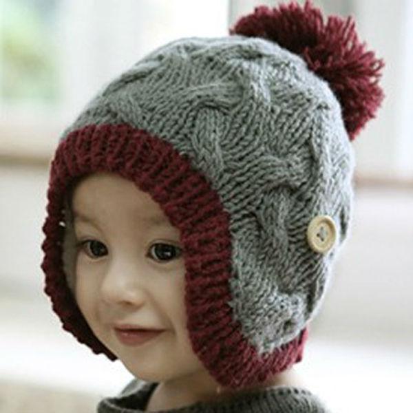 28ff96f34f18 13 Modelos de gorros tejidos especiales para bebés - Gorros Tejidos