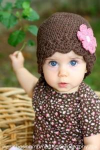 13 Modelos de gorros tejidos especiales para bebés (7)