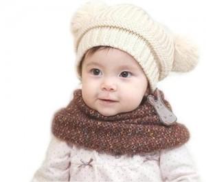 13 Modelos de gorros tejidos especiales para bebés (9)