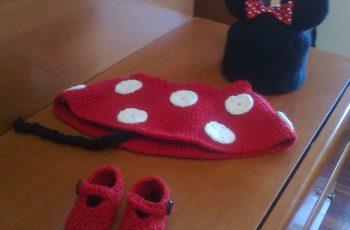 12 Bonitos gorros tejidos de Minnie mouse (14)