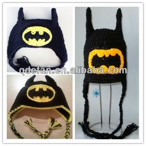 9 Divertidos gorros tejidos a crochet de batman (3)