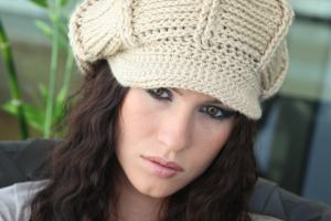 11 Divertidas gorras tejidos con visera