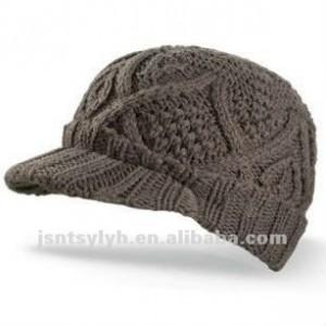 11 Divertidas gorras tejidos con visera (5)