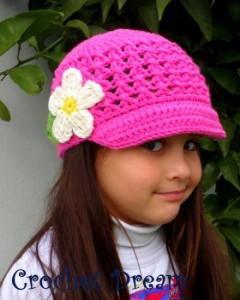 11 Divertidas gorras tejidos con visera (7)