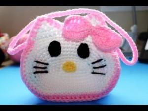 9 Bellos gorros tejidos al crochet de kitty (4)