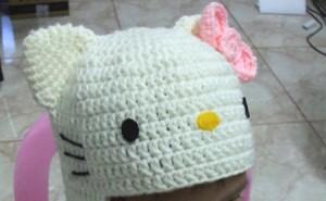 9 Bellos gorros tejidos al crochet de kitty (5)