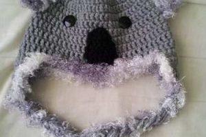 10 Divertidos gorros tejidos de koala