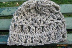 10 Hermosos gorros tejidos con horquilla