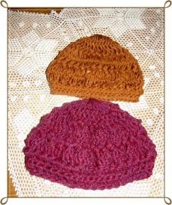 10 Hermosos gorros tejidos con horquilla (4)