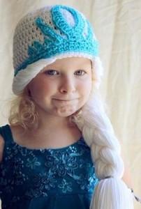 10 Gorros tejidos de Frozen (12)