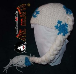 10 Gorros tejidos de Frozen (7)