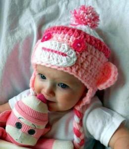 10 Nuevos modelos de gorros tejidos para bebés (1)