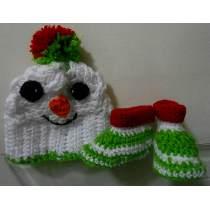 10 Gorros tejidos de navidad (3)