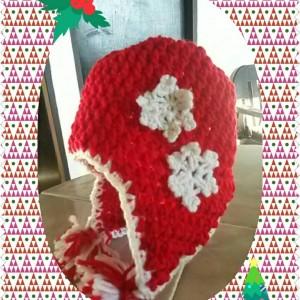 10 Gorros tejidos de navidad (8)
