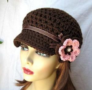 10 Hermosos gorros tejidos a crochet (4)