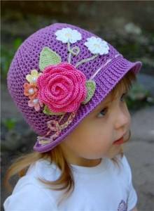 10 Hermosos gorros tejidos a crochet (5)