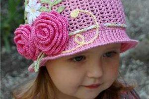 11 divertidos gorros tejidos en crochet para niños