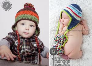 11 divertidos gorros tejidos en crochet para niños (1)