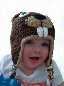 11 divertidos gorros tejidos en crochet para niños (4)