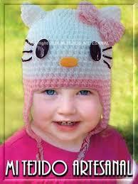 11 divertidos gorros tejidos en crochet para niños (8)