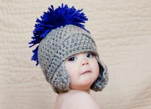 11 divertidos gorros tejidos en crochet para niños (9)